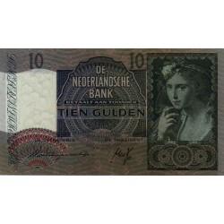 Nederland 10 Gulden 1940 II 'Meisje met druiven'