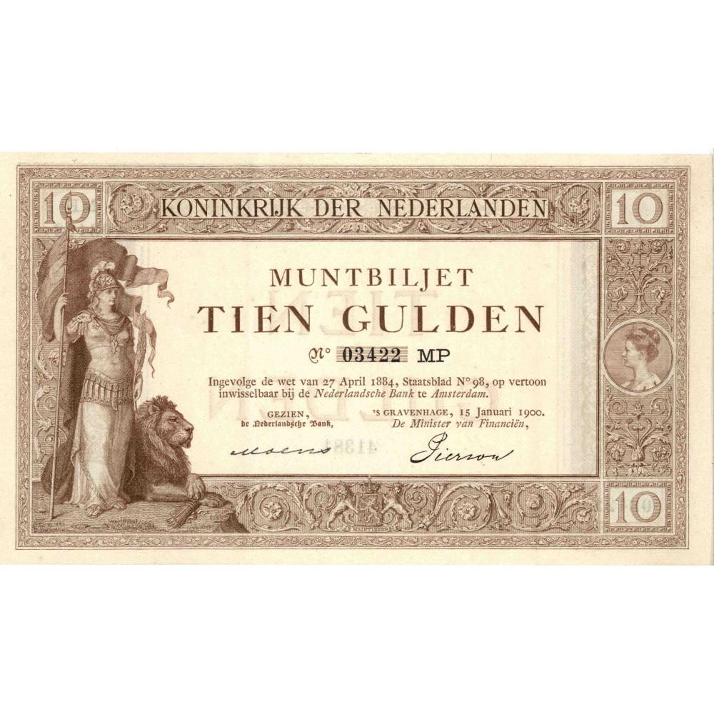 Nederland 10 Gulden 1898