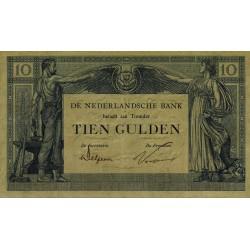 Nederland 10 Gulden 1921 'Arbeid en Welvaart'