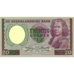 Nederland 20 Gulden 1955 'Boerhaave'