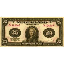 Nederland 25 Gulden 1943 II 'Wilhelmina'