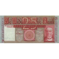 Nederland 25 Gulden 1931 'Mees'