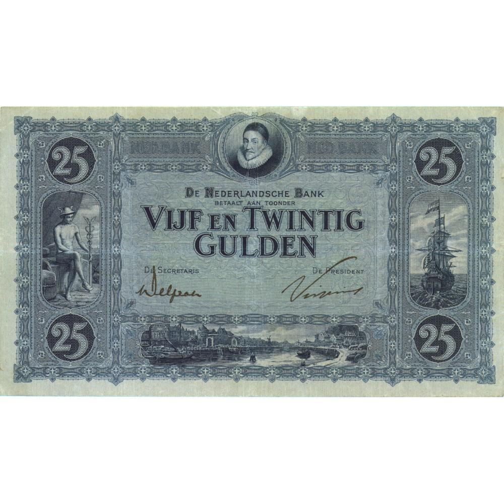 Nederland 25 Gulden 1927 'Willem van Oranje'