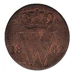 Koninkrijksmunten Nederland ½ cent 1862