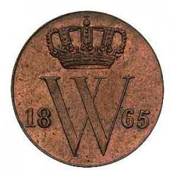 Koninkrijksmunten Nederland ½ cent 1865