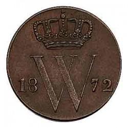 Koninkrijksmunten Nederland ½ cent 1872
