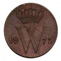 Koninkrijksmunten Nederland ½ cent 1875