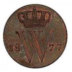 Koninkrijksmunten Nederland ½ cent 1877