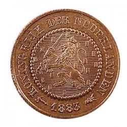 Koninkrijksmunten Nederland ½ cent 1883