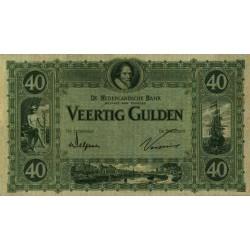 Nederland 40 Gulden 1921 'Maurits'