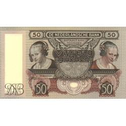 Nederland 50 Gulden 1941 'Oestereetster'