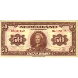 Nederland 50 Gulden 1943 'Wilhelmina'