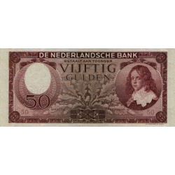 Nederland 50 gulden 1945 'Stadhouder Willem III'