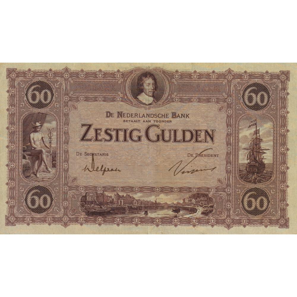 Nederland 60 Gulden 1921 'Frederik Hendrik'