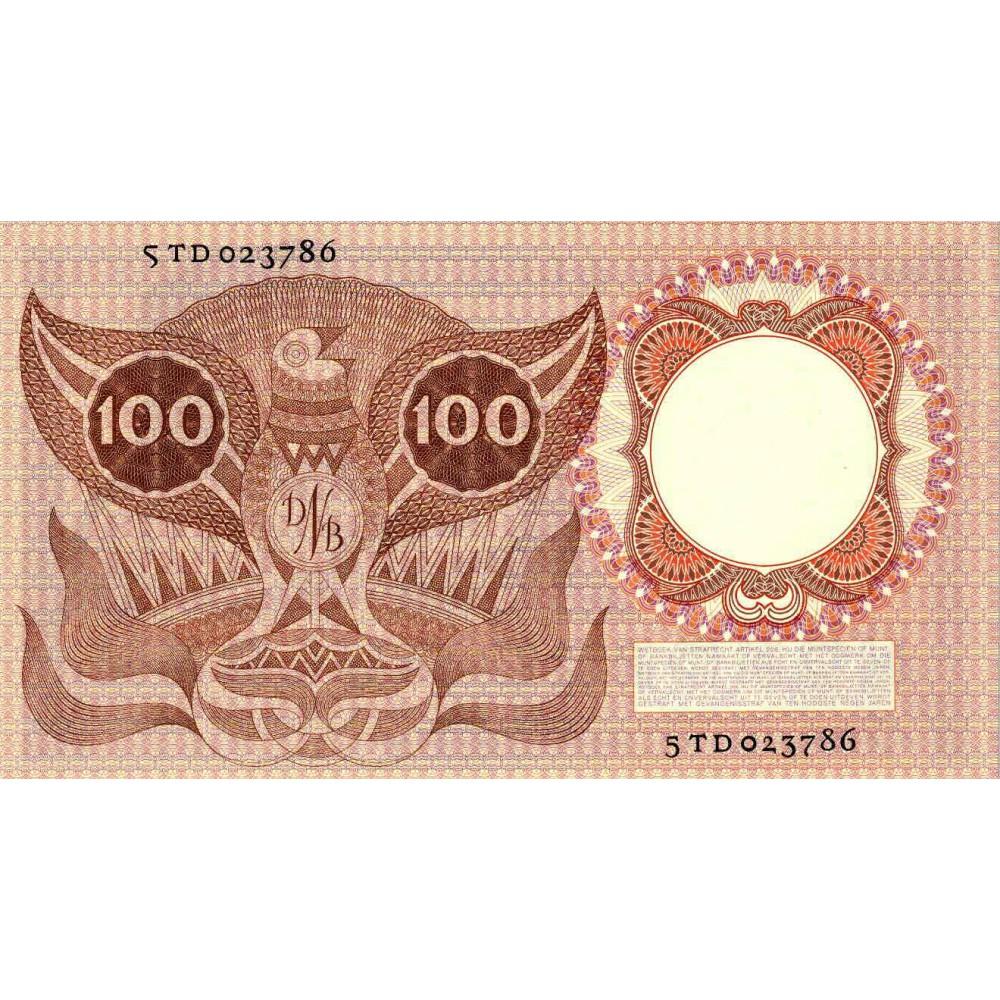 Nederland 100 Gulden 1953 'Erasmus'