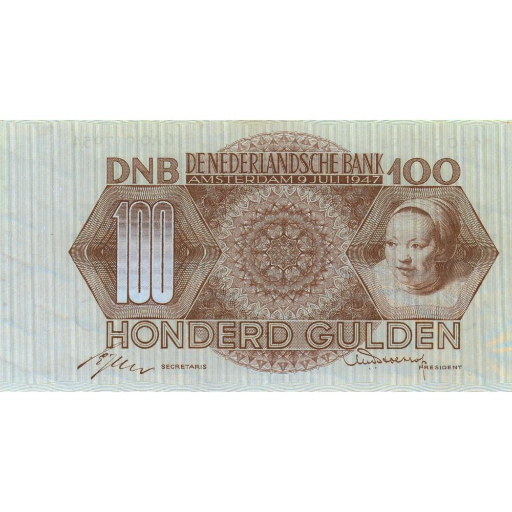 Nederland 100 Gulden 1947 'Adriaentje Hollaer'