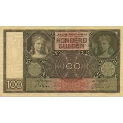 Nederland 100 Gulden 1930 I 'Luitspelende vrouw'