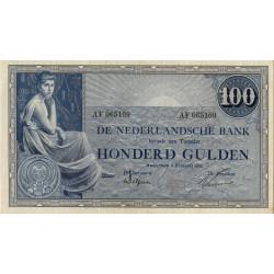 Nederland 100 Gulden 1921 'Grietje Seel'