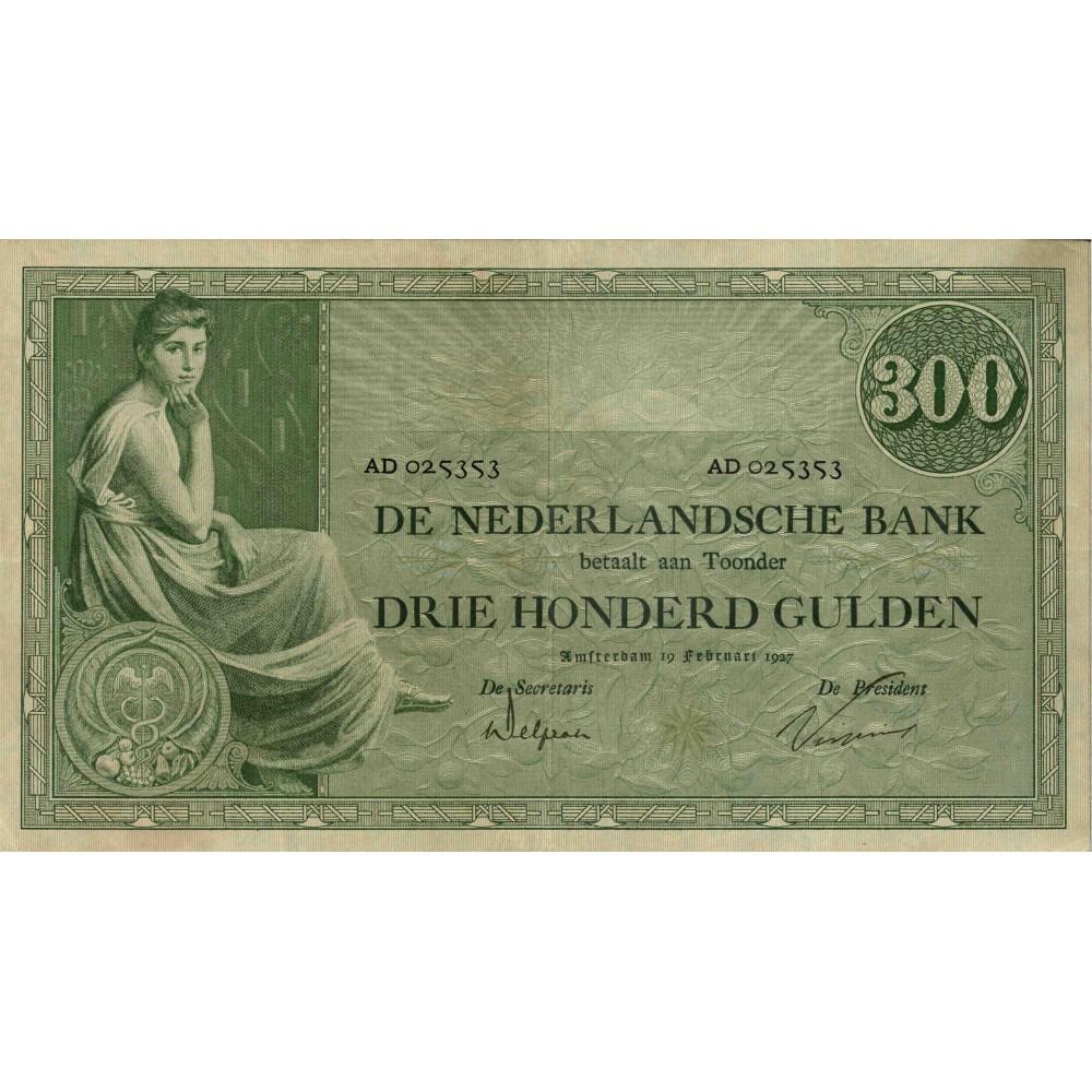Nederland 300 Gulden 1921 'Grietje Seel'