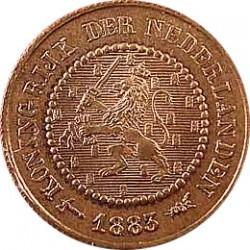 Koninkrijksmunten Nederland Complete serie ½ cent Wilhelmina de jaren 1891, 1894, 1898, 1900, 1901, 1903, 1906, 1909, 1911, 1912