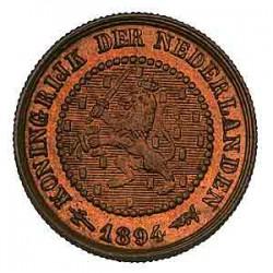 Koninkrijksmunten Nederland ½ cent 1894