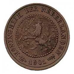 Koninkrijksmunten Nederland ½ cent 1901