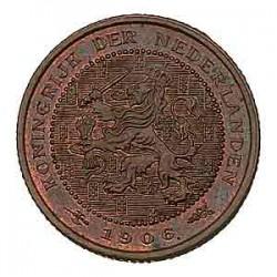 Koninkrijksmunten Nederland ½ cent 1906