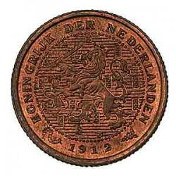 Koninkrijksmunten Nederland ½ cent 1912