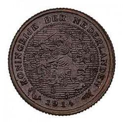 Koninkrijksmunten Nederland ½ cent 1914