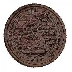 Koninkrijksmunten Nederland ½ cent 1916