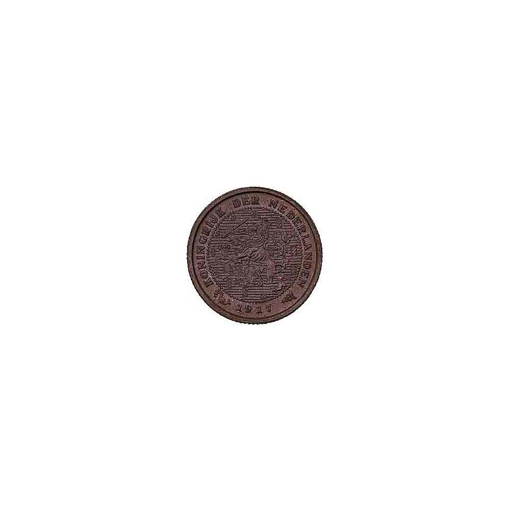 Koninkrijksmunten Nederland ½ cent 1917