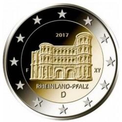 Duitsland 2 euro 2017 'Rheinland-Pfalz' - willekeurige letter