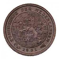 Koninkrijksmunten Nederland ½ cent 1921