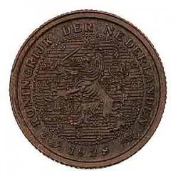 Koninkrijksmunten Nederland ½ cent 1928