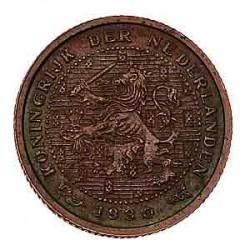 Koninkrijksmunten Nederland ½ cent 1930