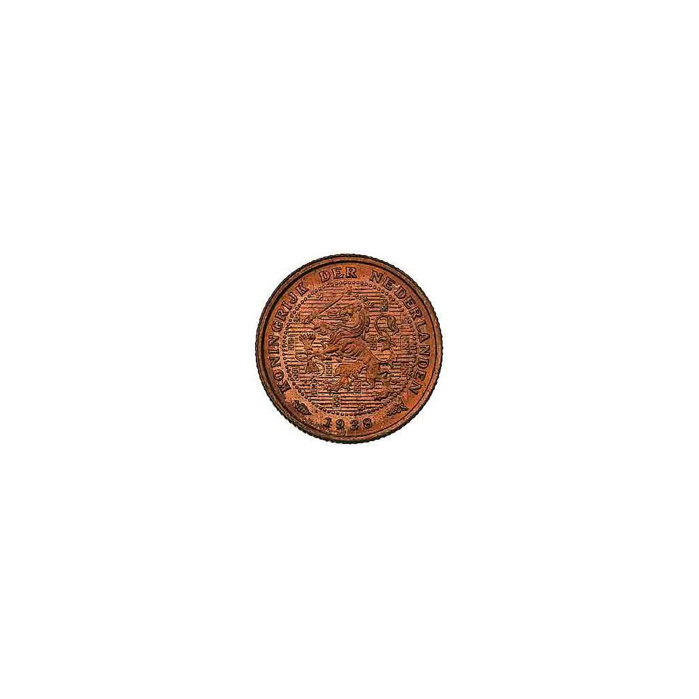 Koninkrijksmunten Nederland ½ cent 1938