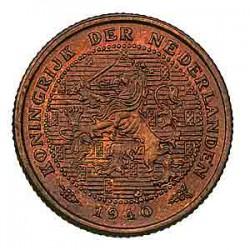 Koninkrijksmunten Nederland ½ cent 1940