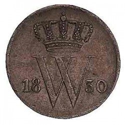Koninkrijksmunten Nederland 1 cent 1830 U