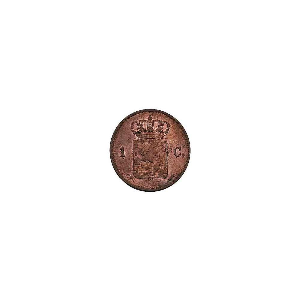 Koninkrijksmunten Nederland 1 cent 1870