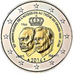 Luxemburg 2 euro 2014 '50 jaar Jean'