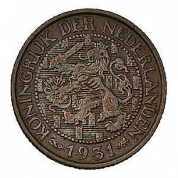 Koninkrijksmunten Nederland 1 cent 1831 U