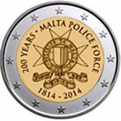 Malta 2 euro 2014 'Politie'
