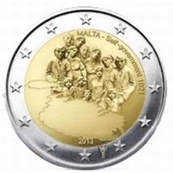 Malta 2 euro 2013 'Zelfbestuur' mét Nederlands muntteken