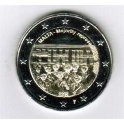 Malta 2 euro 2012 'Stemrecht' mét muntteken