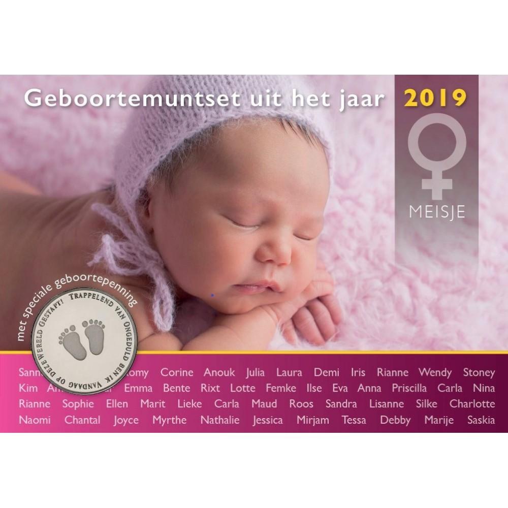 Nederland Geboorte Set 2019 - Meisje