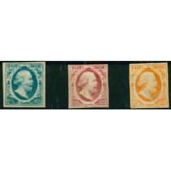 1852 Nederland postzegels | Koning Willem III