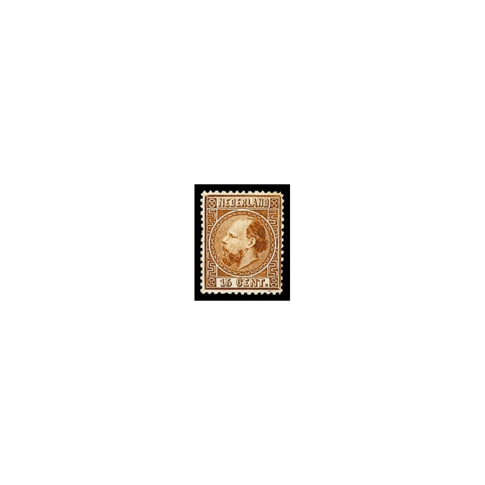 1867-1868 Nederland postzegels | Koning Willem III