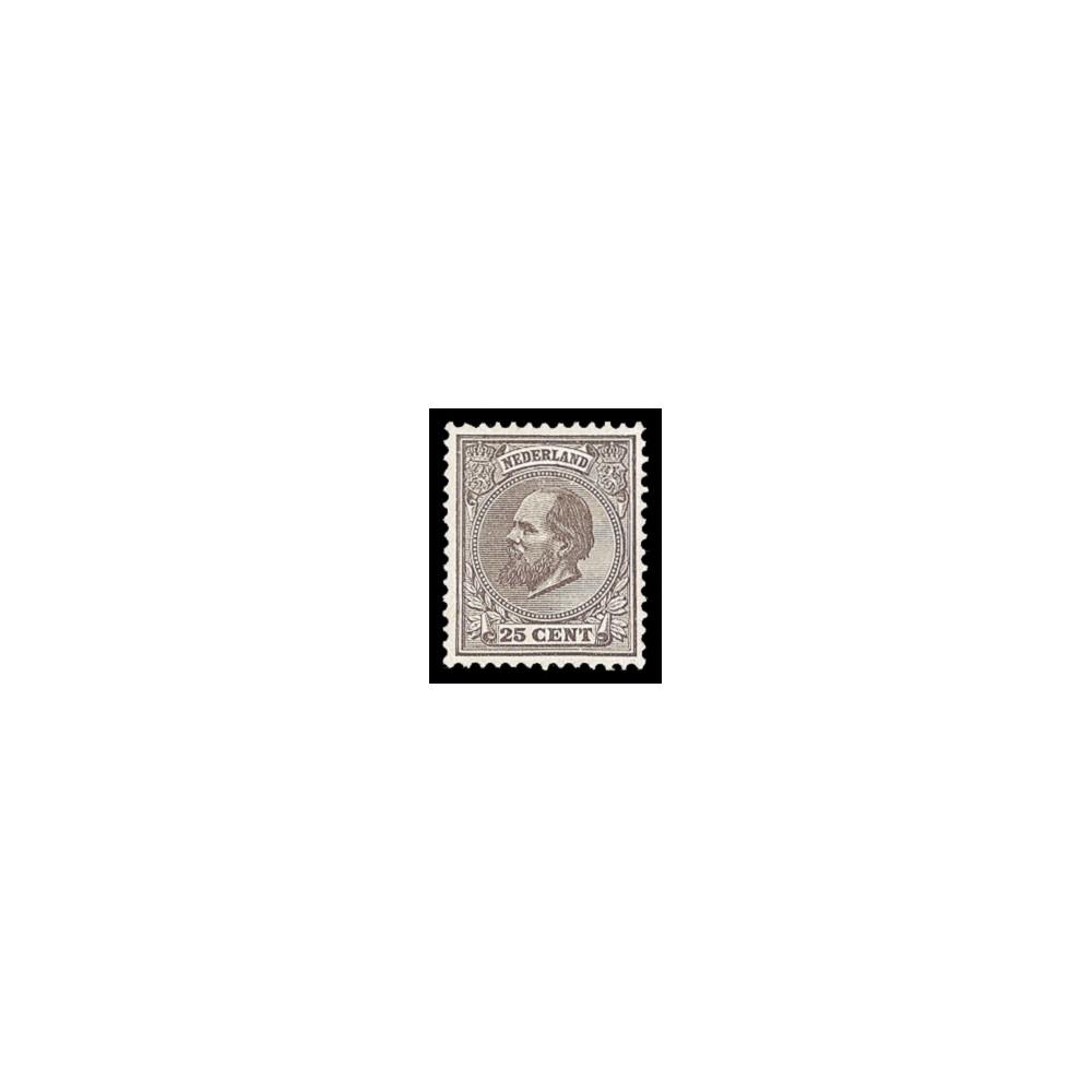 1872-1888 Nederland postzegel   Koning Willem III