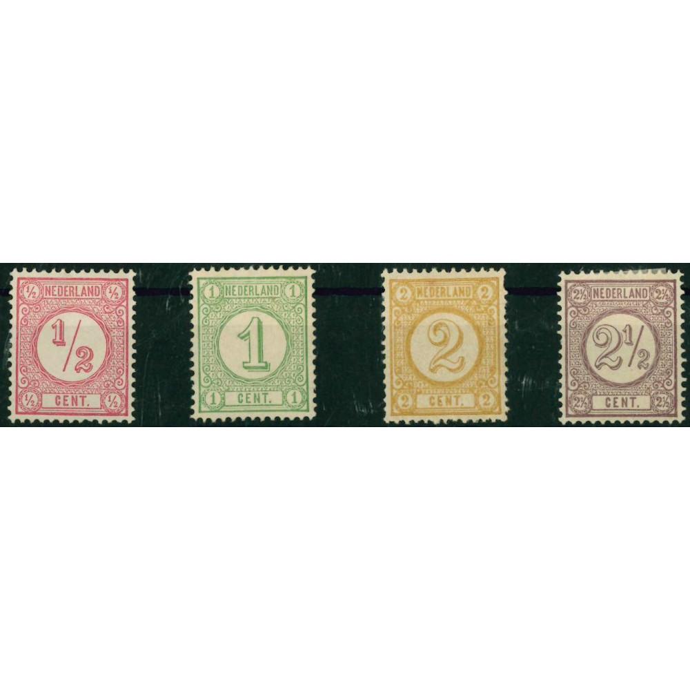 1876-1894 Nederland postzegels | Cijfer. Drukwerkzegels ter vervanging van de Wapenzegels emissie 1869
