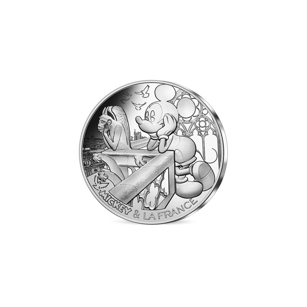 Frankrijk 10 euro 2018 'Mickey op de Notre Dame'